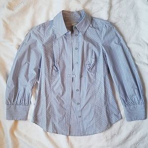 Anthro Odille Button-up Top - 4